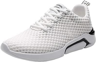 Bluestercool Uomo Scarpe Running Sneakers da Corsa Casual e Leggera Lace-Up Outdoor Sport Fitness Ginnastica Sneakers