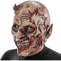 Carnival Toys - Máscara de látex zombi ensangrentado con encabezado, ...
