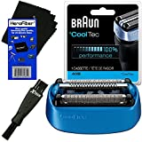 Braun 40B Replacement Shaving Foil Head & Cutter Cartridge For ºCoolTec CT2s, CT2cc, CT3cc, CT4s, CT4cc, CT5cc...