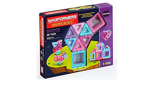 Magformers Inspire Set 30-teilig Magentspiel Baukästen & Konstruktion
