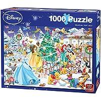 King 5266 Christmas Disney Puzzle (1000-Piece)