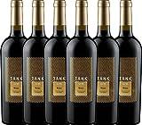 6er Paket - TANK No 11 Syrah Appassimento 2017 - Cantine Minini | italienischer Rotwein | halbtrockener Wein aus Sizilien | 6 x 0,75 Liter
