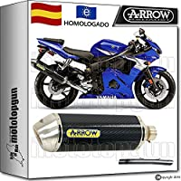 ARROW KIT SILENCIADOR RACE-TECH CARBONO HOM YAMAHA YZF 600 R6 2005 05
