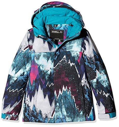 O 'Neill niña Dazzle Jacket, niña, Dazzle jacket, Blue Aop W/ Red