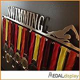 Medaldisplay - Medallero de pared para natación