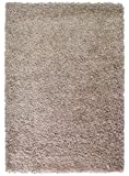 "Large Rug 5cm Thick Shag Pile Soft Shaggy Area Rugs Modern Carpet Living Room Bedroom Mats (120x170cm (4'x5'6""), Dark Beige)"