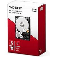 Western Digita WD Red interne Festplatte 8 TB (3,5 Zoll, NAS Festplatte, 5400U/min, SATA 6 Gbit/s, NASware-Technologie…