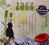 1962 Geburtstags-Geschenke - Kompilation Musik CD - Leere Jahr Grußkarte Geschenk - 20 Original HitParaden Songs - Karte misst 15 x 14 cm