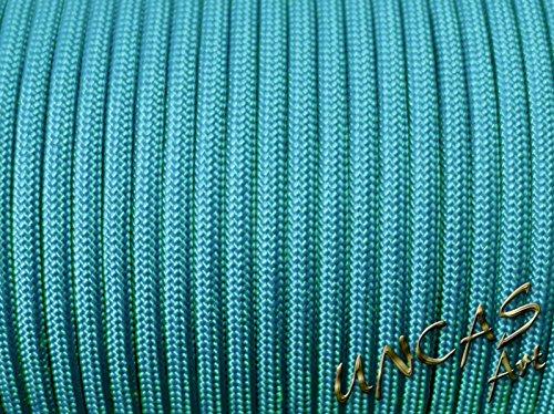 Original paracorde 550 Corde type 3–30 m – Couleur Turquoise