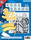 Nonogramm 3er-Band Nr. 16 (Nonogramm 3er-Band / Rätsel fürs Auge) - conceptispuzzles