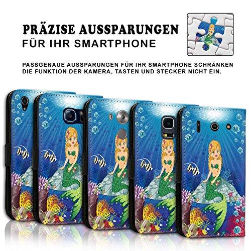 Wallet Book Style Flip Handy Tasche Case Schutz Hülle Schale Motiv Etui für Apple iPhone 6 Plus / 6S Plus - Variante UMV32 Design2 Design 11