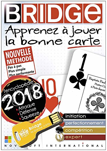 BRIDGE - Expert 2018 sur clé USB OR (Windows XP, 7, 8, 10)