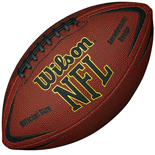 Wilson NFL Kraft offizielle Größe American Football - Tan - Einheitsgröße (Wilson Nfl Offizielle Größe Football)