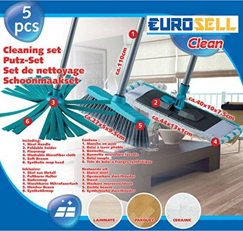 eurosell-professionale-3in-1mop-lavapavimenti-spazzola-panno-in-microfibra-set-5pezzi-con-metallo-st
