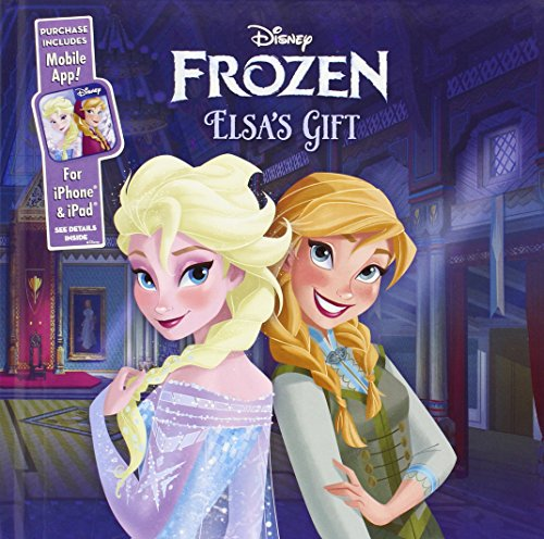 Elsa's Gift: Purchase Includes Mobile App! For iPhone & iPad (Disney Frozen) (Team Mobile Iphone 6)