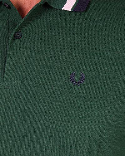 FRED PERRY - Herren Polo Slim Fit M7386 Grün