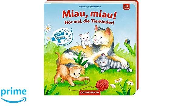 Mein 1. Soundbuch Miau die Tierkinder! Hör mal miau