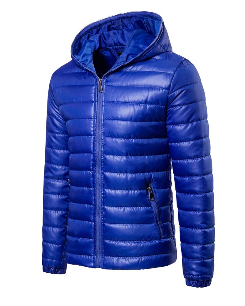 61pqTQKha8L - ZiXing Men's Winter Hooded Down Puffer Jacket Coat Packable Ultra Light Weight