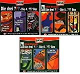 Die Drei ??? (Fragezeichen) - Folgen 10-18 (3 CD Box 4+5+6) im Set - Deutsche Originalware [9 CDs]