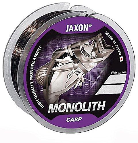 JAXON MONOLITH CARP 300m/600m Angelschnur Spule Monofile Karpfen Ø 0,25-0,35mm (300m/0,30mm/18kg)