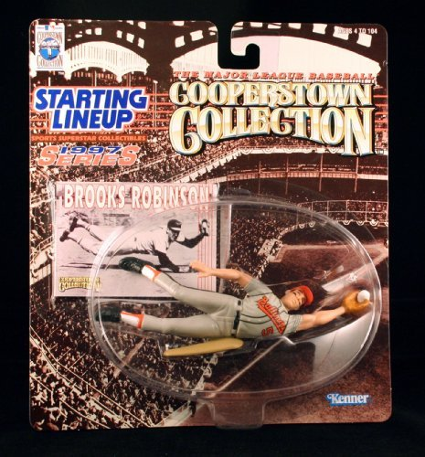 Brooks Robinson/Baltimore Orioles 1997MLB Cooperstown Collection Starting Five Action Figur & Exclusive Trading Card von Starting Five Orioles Cooperstown Collection