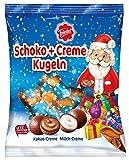 Friedel - Schoko+Creme Kugeln Weihnachten Schokolade Milch Kakao Bonbons - 180g