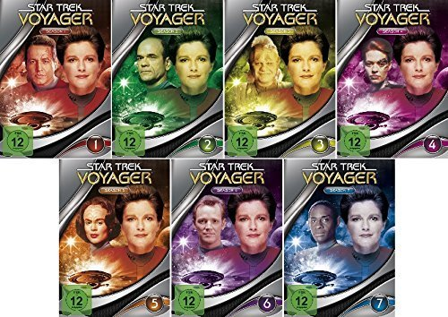 Star Trek - Voyager/Season-Box 1-7 im Set - Deutsche Originalware [47 DVDs] (Star Trek Staffel 5)