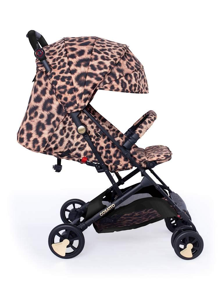 Cosatto Woosh Hear Us Roar Pushchair Cosatto Compact from-birth pushchair, carries up to 25kg child, so you can use it for longer Folds one-handed into small compact bundle, easy store and ultra lightweight for city life Luxury fabrics, rain cover, upf100+ double length hood and visor 1