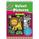 Galt Toys  Velvet Pictures Animals, Colouring Book for Children
