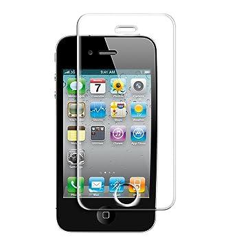 kwmobile Pellicola protettiva vetro temperato per Apple iPhone 4 ...