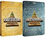 National Treasure 1 & National Treasure 2 Book Of Secrets 2015 UK Exclusive bluray Steelbook Limited Collector's Edition Region free