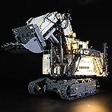 LIGHTAILING Set di Luci per (Technic Power Functions Escavatore Liebherr R 9800) Modello da Costruire - Kit Luce LED Compatib