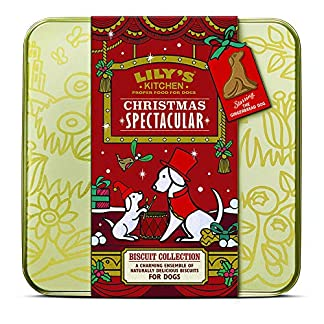 lily's kitchen christmas biscuit tin 2018 dog treat Lily's Kitchen Christmas Biscuit Tin 2018 Dog Treat 61prRjHaNGL