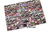 Finest-Folia RC 1:10 CAR Stickerbomb Folie Aufkleber Heli Boot Skull Decal Sticker Drift