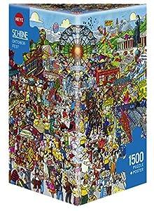 Heye 29842 Oktoberfest, Schöne - Puzzles Triangulares