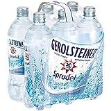 Gerolsteiner Sprudel, Mineralwasser mit Kohlensäure, calcium- und magnesium-haltig, 6 x 0,75 l Flaschen