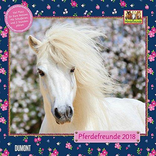 Pferdefreunde 2018 - Broschürenkalender - Wandkalender - Kinderkalender - Format 30 x 30 cm
