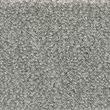 Teppichboden Auslegware | Velours gemustert | 400 und 500 cm Breite | hell-grau | Meterware, verschiedene Größen | Größe: 1,5 x 4m