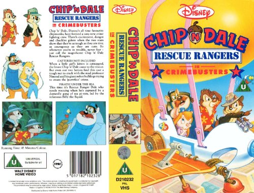 Chip 'n' Dale - Rescue Rangers - Crimebusters