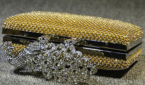 Peacock Dinner Bag borsa sposa Bag Set Elegante coclea signora mini borsa-12837 oro