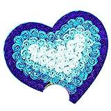 Zhongsufei Seifenblume Valentinstag Seifenblume Bär Herzförmige Geschenkbox Geburtstag Mädchen Geschenke verschicken (Farbe : Blau 1)