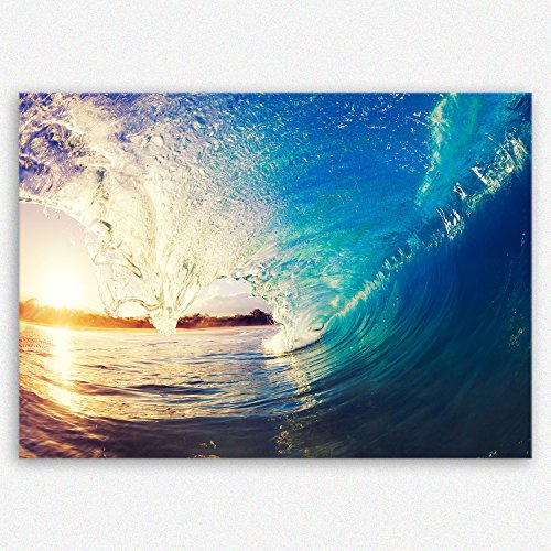 ge-Bildet® hochwertiges Leinwandbild Naturbilder Landschaftsbilder