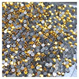 1000 Strass Hotfix S6 2 mm Topaz Gold Nr. 119