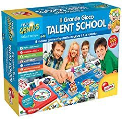 Idea Regalo - Lisciani Giochi I'm a Genius Talent School Il Grande Gioco Talent School, 56477