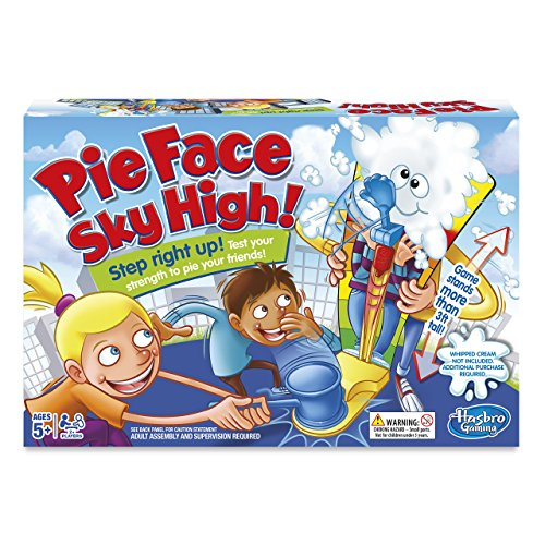 Hasbro Gaming Pie Face Sky High Game (UK IMPORT)