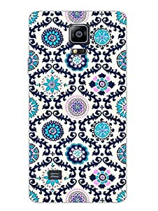 Samsung Note 4 Cases & Covers - Ethnic Pattern Motifs - Designer Printed Hard Shell Case