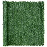 "Artificial Hedge Roll, Conifer Leaf Screening, Privacy Fence Screen, UV-Resistant, 1m x 3m (9ft 10"" x 3ft 3""), Christow"
