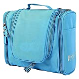 Okayji Travel Organizer Side Pocket Bag Case Traveling Multipurpose Pouch for Cosmetic Makeup Toiletry - Royal Blue