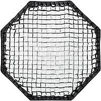 Rollei Pro Octagonal Softbox 90 cm - Octabox professionnelle 90 cm – Boîte-parapluie Octabox pliante avec monture Bowens, pour Photographie de produit / portrait - Noir