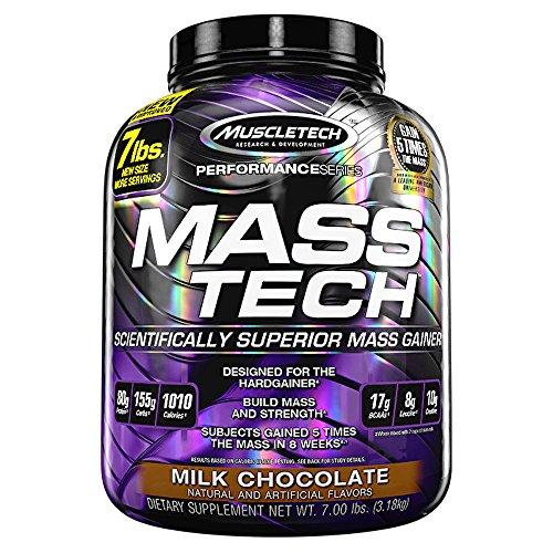 Muscletech Mass Tech Scientifically Superior Mass Gainer - 7.00 lbs 3.18kg (Milk Chocolate)